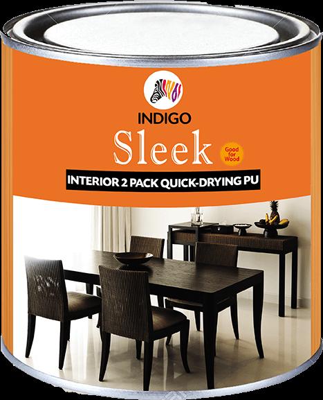 Sleek Interior Two Pack Quick-Drying PU